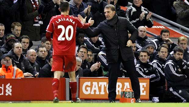 Brendan Rodgers Liverpool v Swansea City