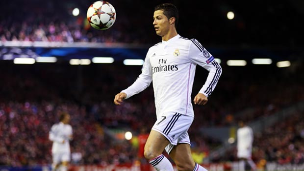 Cristiano Ronaldo Real Madrid v Ludogorets Champions League