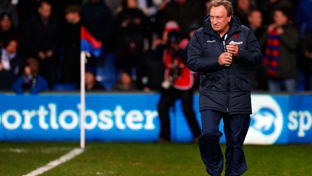 Crystal Palace boss Neil Warnock