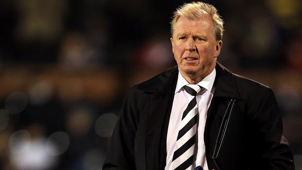 Derby County boss Steve McClaren