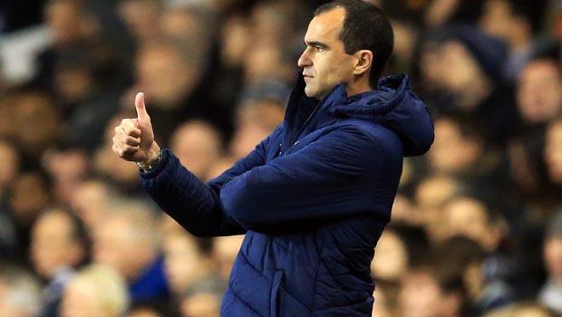 Everton boss Roberto Martinez
