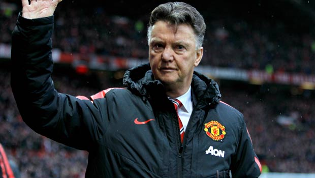 Manchester United boss manager Louis van Gaal