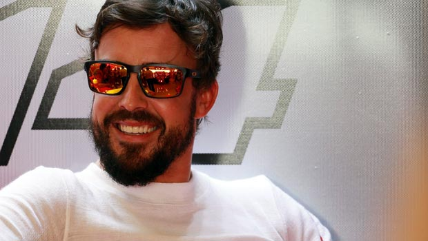 New McLaren-Honda driver Fernando Alonso