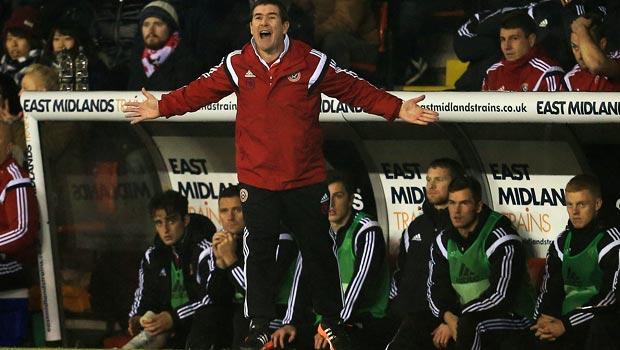 Sheffield United boss Nigel Clough