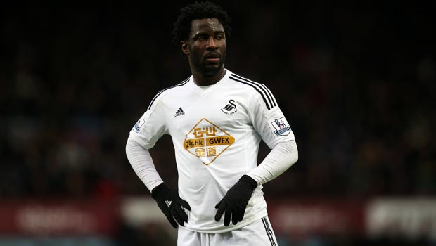 Swansea City Wilfried Bony