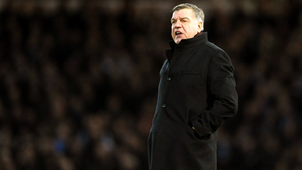West Ham United manager Sam Allardyce Premier League