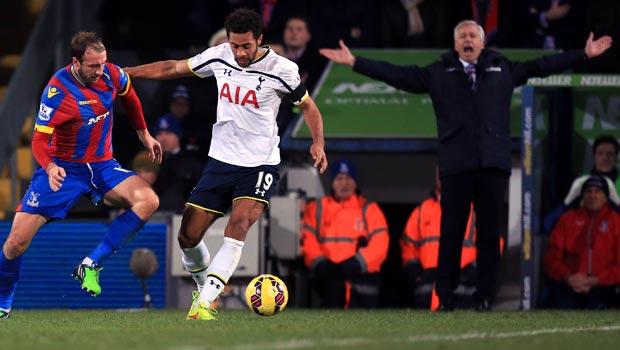 Alan Pardew Crystal Palace v Tottenham Hotspur