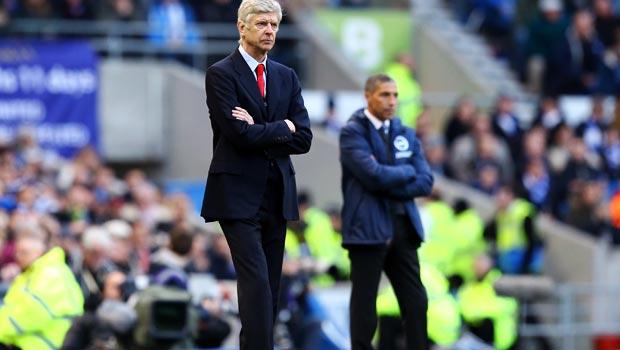 Brighton and Hove Albion v Arsenal Arsene Wenger