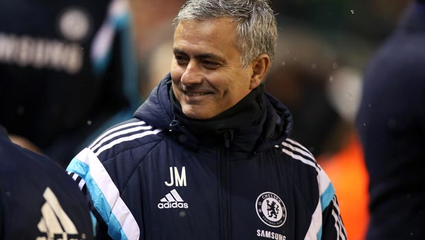 Chelsea manager Jose Mourinho Capital One Cup