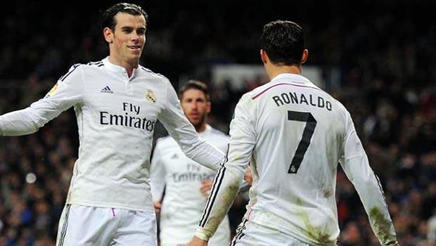 Cristiano Ronaldo and Gareth Bale La Liga