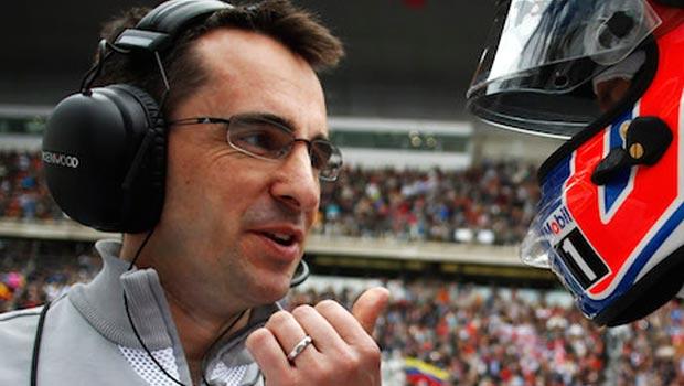 Formula 1 race engineer Dave Robson