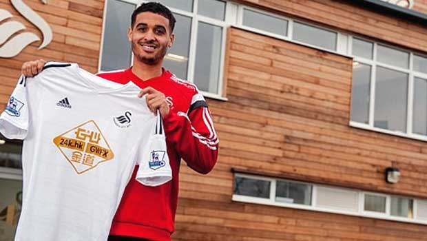 New Swansea City Kyle Naughton