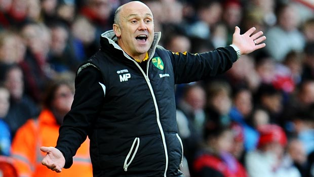 Norwich City first team coach Mike Phelan