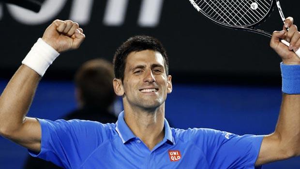 Novak Djokovic v Milos Raonic Australian Open