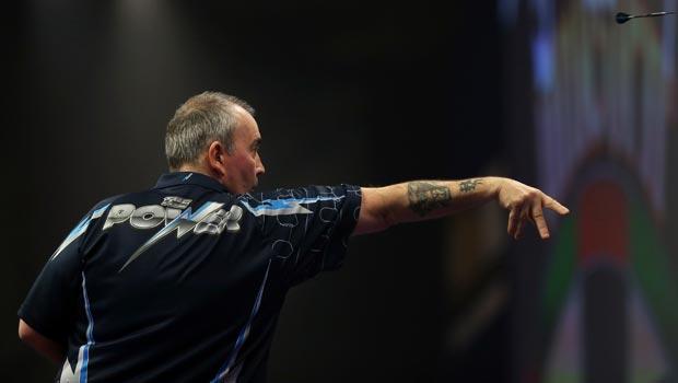 Phil Taylor PDC World Darts Championship final