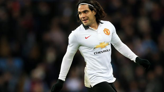 Radamel Falcao Man United