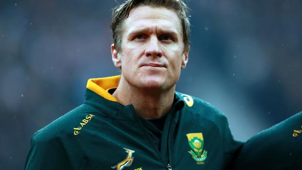 South Africa Jean de Villiers Rugby World Cup