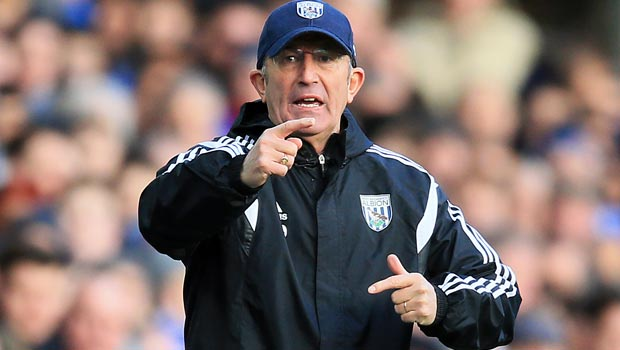 Tony Pulis West Bromwich Albion Manager