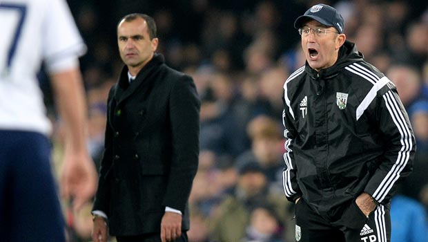 Tony Pulis West Bromwich Albion v Everton