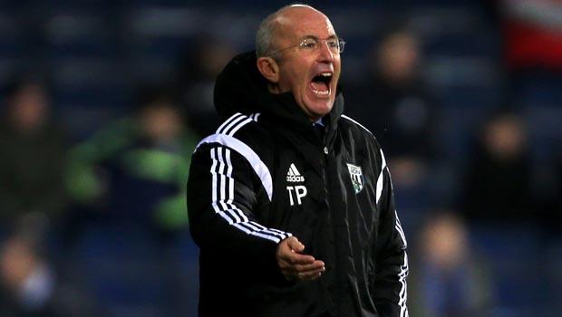 Tony Pulis West Bromwich Albion v Gateshead FA Cup