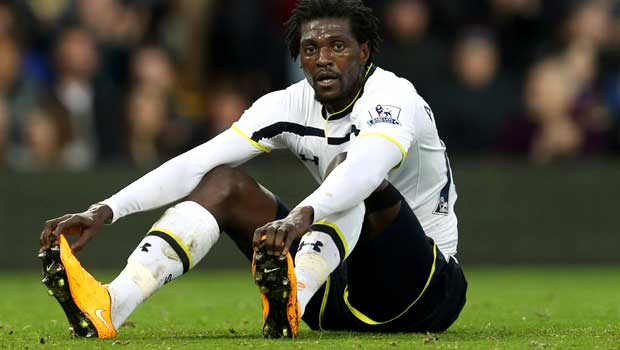 Tottenham Hotspur Emmanuel Adebayor