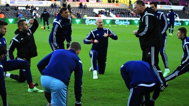 West Ham United team manager Sam Allardyce