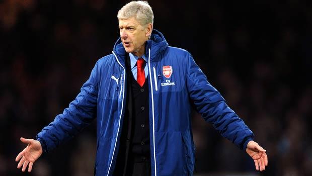 Arsene Wenger Arsenal v Leicester Premier League