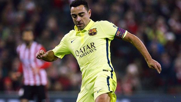 Barcelona veteran midfielder Xavi Hernandez