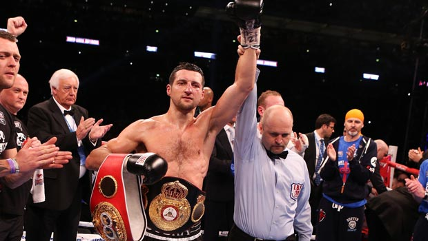 Carl Froch IBF super-middleweight title belt
