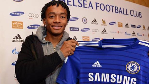 Chelsea new boy Juan Cuadrado