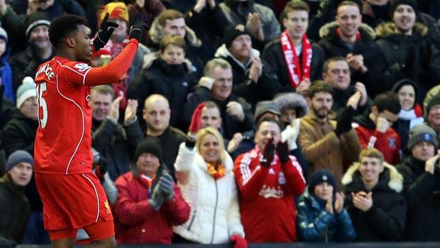 Daniel Sturridge Liverpool  v West Ham United
