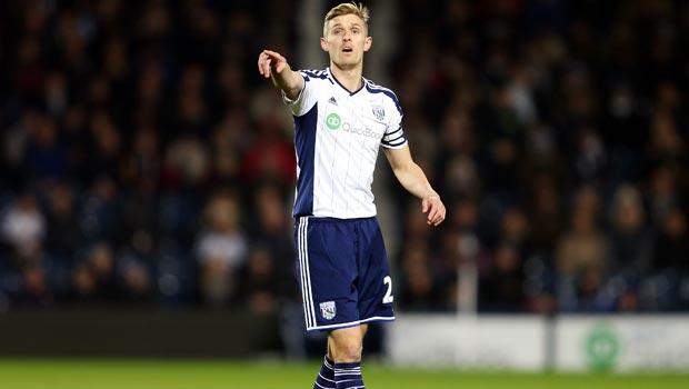 Darren Fletcher West Bromwich Albion