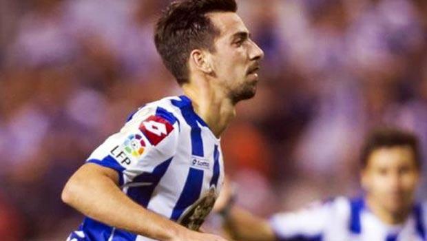 Deportivo La Coruna winger Isaac Cuenca