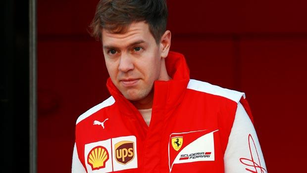 Ferrari F1 Sebastian Vettel