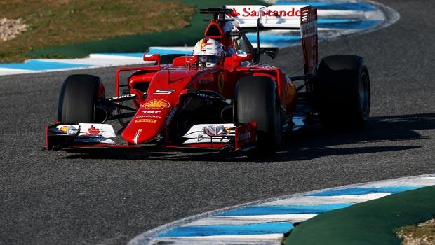 Ferrari Sebastian Vettel Circuito de Jerez