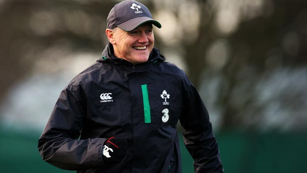 Head coach Joe Schmidt Rugby Union RBS 6 Nations