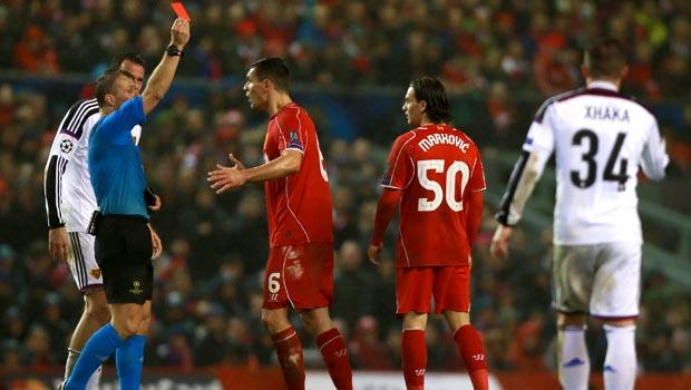 Lazar Markovic Liverpool v Basel Champions League