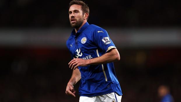 Leicester defender Matthew Upson