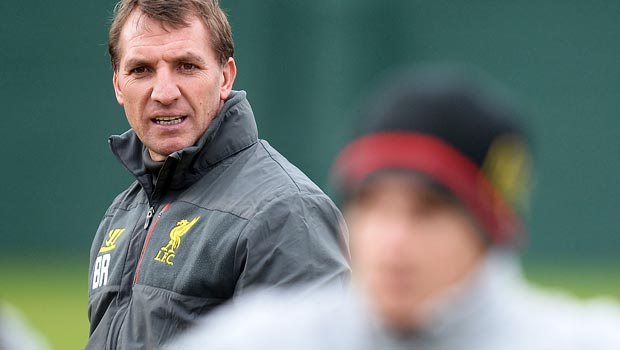 Liverpool manager Brendan Rodgers Europa League