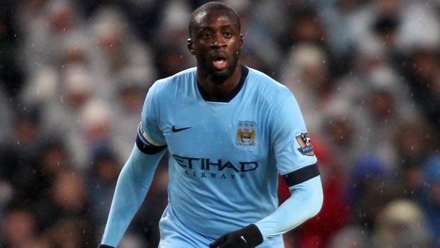 Man City Yaya Toure
