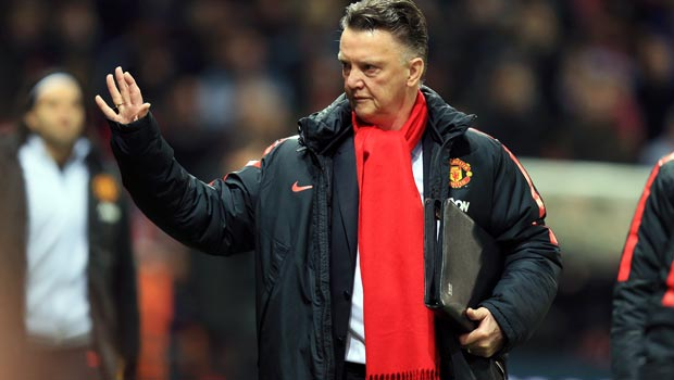 Manchester United manager Louis van Gaal FA Cup