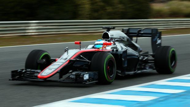 McLaren Honda Fernando Alonso F1 Circuito de Jere