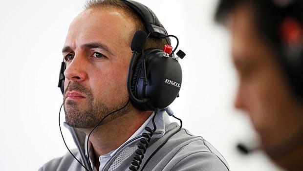 McLaren engineering director Matt Morris