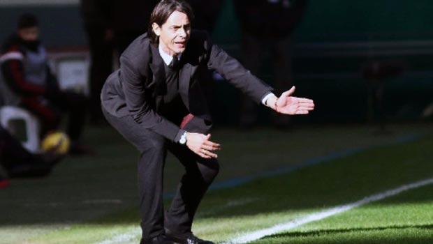 Milan coach Pippo Inzaghi