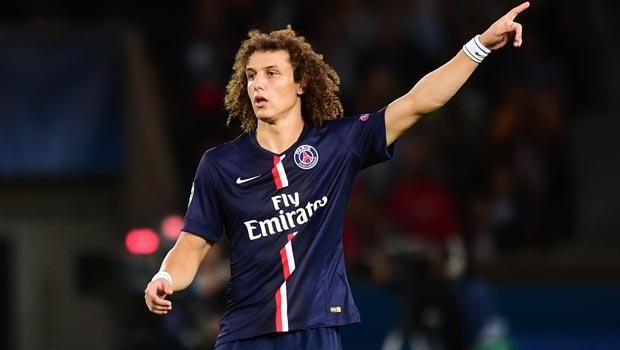 PSG defender David Luiz Champions League