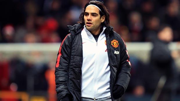 Radamel Falcao Manchester United v Sunderland