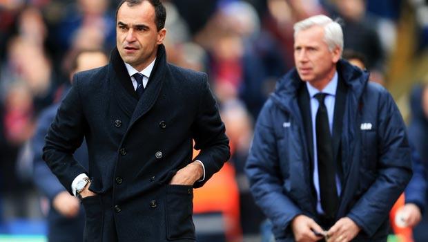 Roberto Martinez Everton v Crystal Palace