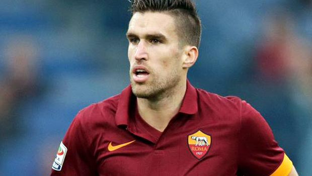 Roma midfielder Kevin Strootman