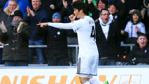 Swansea City Sung-Yeung Ki
