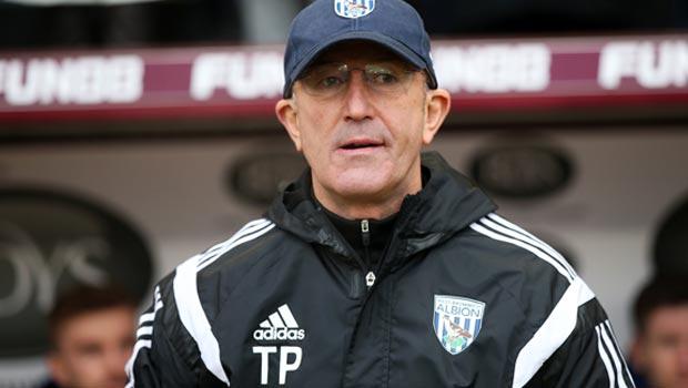 Tony Pulis West Bromwich Albion